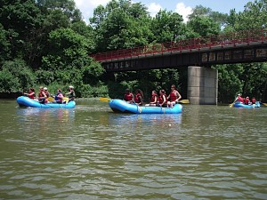 River School rafts