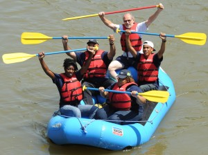 River School raft